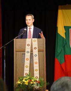 LR generalinis konsulas New Yorke Julius Pranevičius.