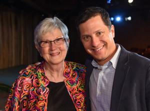 Nancy su Israel Gillman anūku Neil Bienstock.