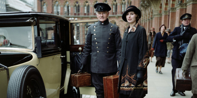 """Downton Abbey"" 4-to sezono scena."