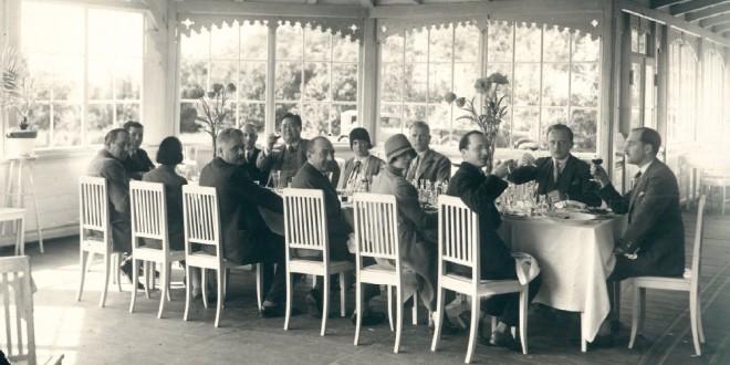 Tautų Sąjungos atstovų vaišės Nepriklausomoje Lietuvoje.