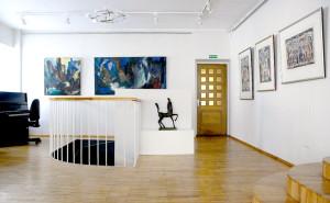 Beatričės Kleizaitės-Vasaris menų galerijos vidus.