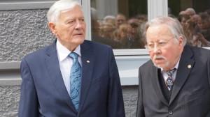 V. Adamus ir V. Landsbergis.