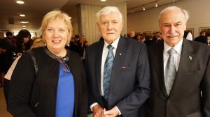 Prezidentą sveikino ir Lietuvių fondo atstovai L. Narbutis ir G. Damušytė.