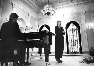 Aldona Stempužienė pasirodymo metu.