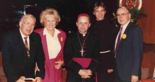Švenčiant parapijos 50 metų jubiliejų.
