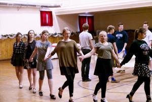 """,,Varpelio"""" šokėjos."""
