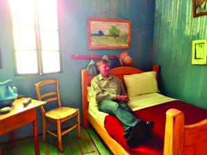 Van Gogh miegamajame.