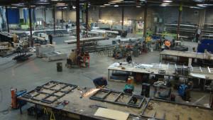 """""""Ravenswood Studio"""" 100 000 kv. pėdų gamybos patalpos."""