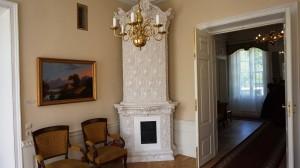 Rūmų interjero fragmentas.