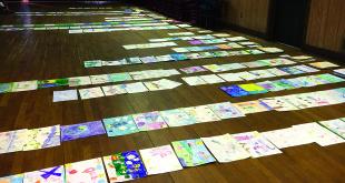 Vertinimo komisija gavo 830 piešinių.