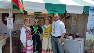 Su Azarbaidžano atstovais.