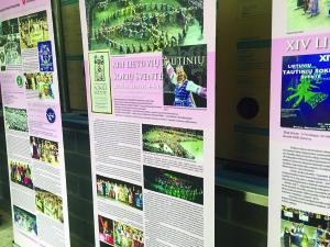 Lituanistikos tyrimo ir studijų centro paroda.