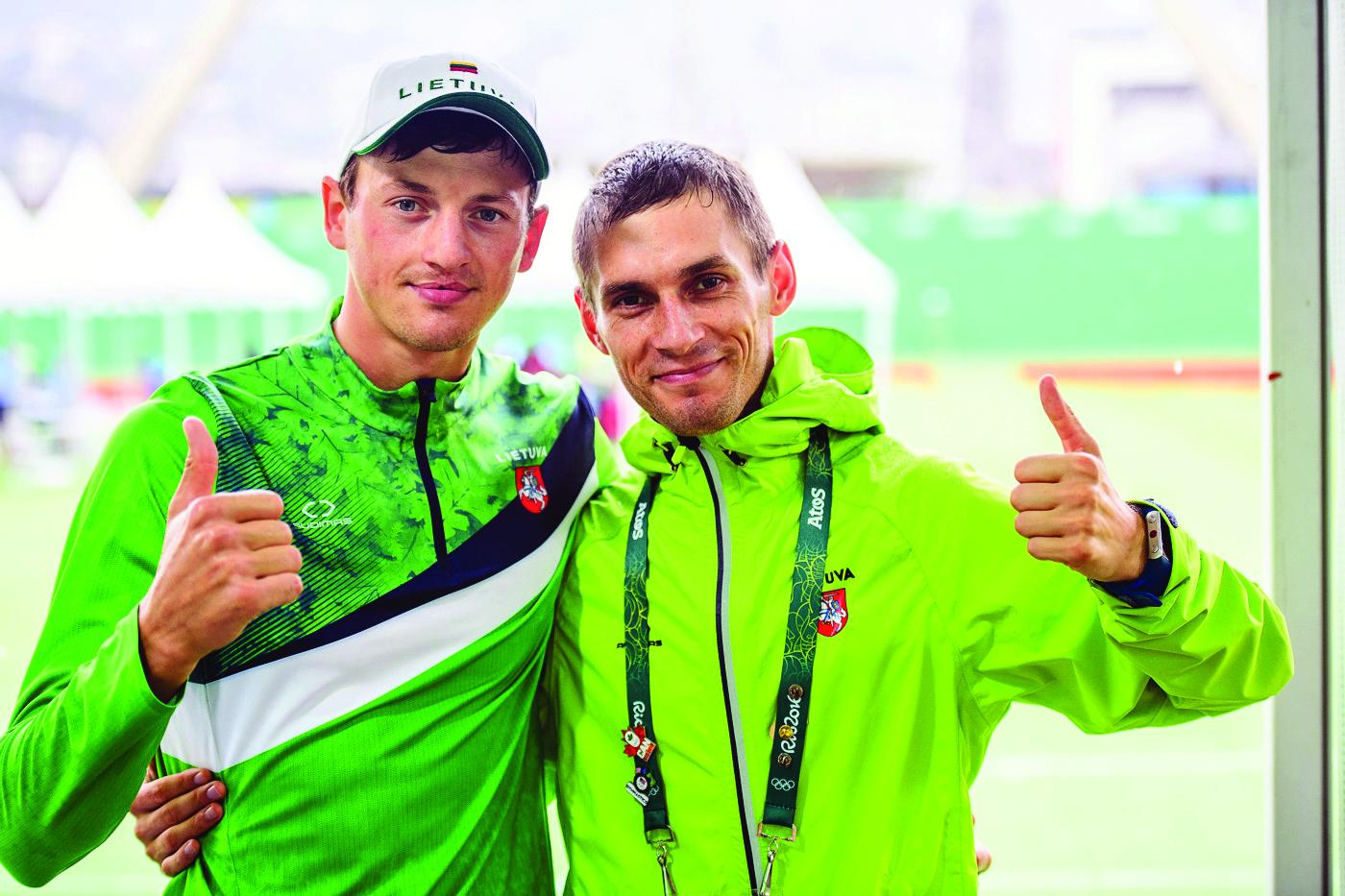 Maratonininkas R. Kančys Rio olimpinėse žaidynėse - 75-as, V. Dopolskas - 111-as.