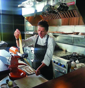 Mėgiamiausias darbas – gaminti ravioli.
