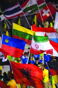 Lietuvos vėliava Rio.