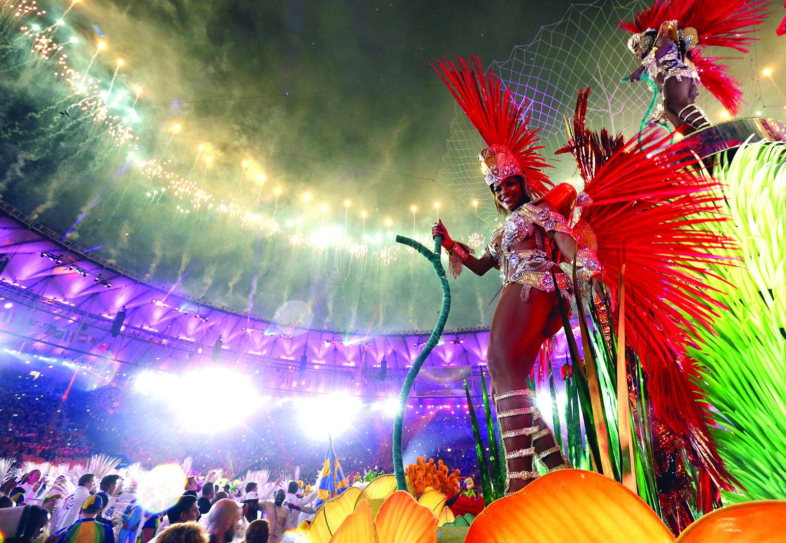 Rio uždarymo ceremonija.