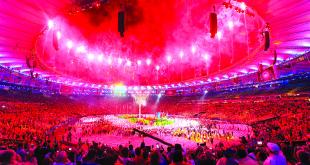 Olimpiados uždarymo ceremonija.