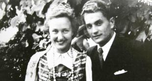 Nijolė ir Juozas Lukšos Vokietijoje.