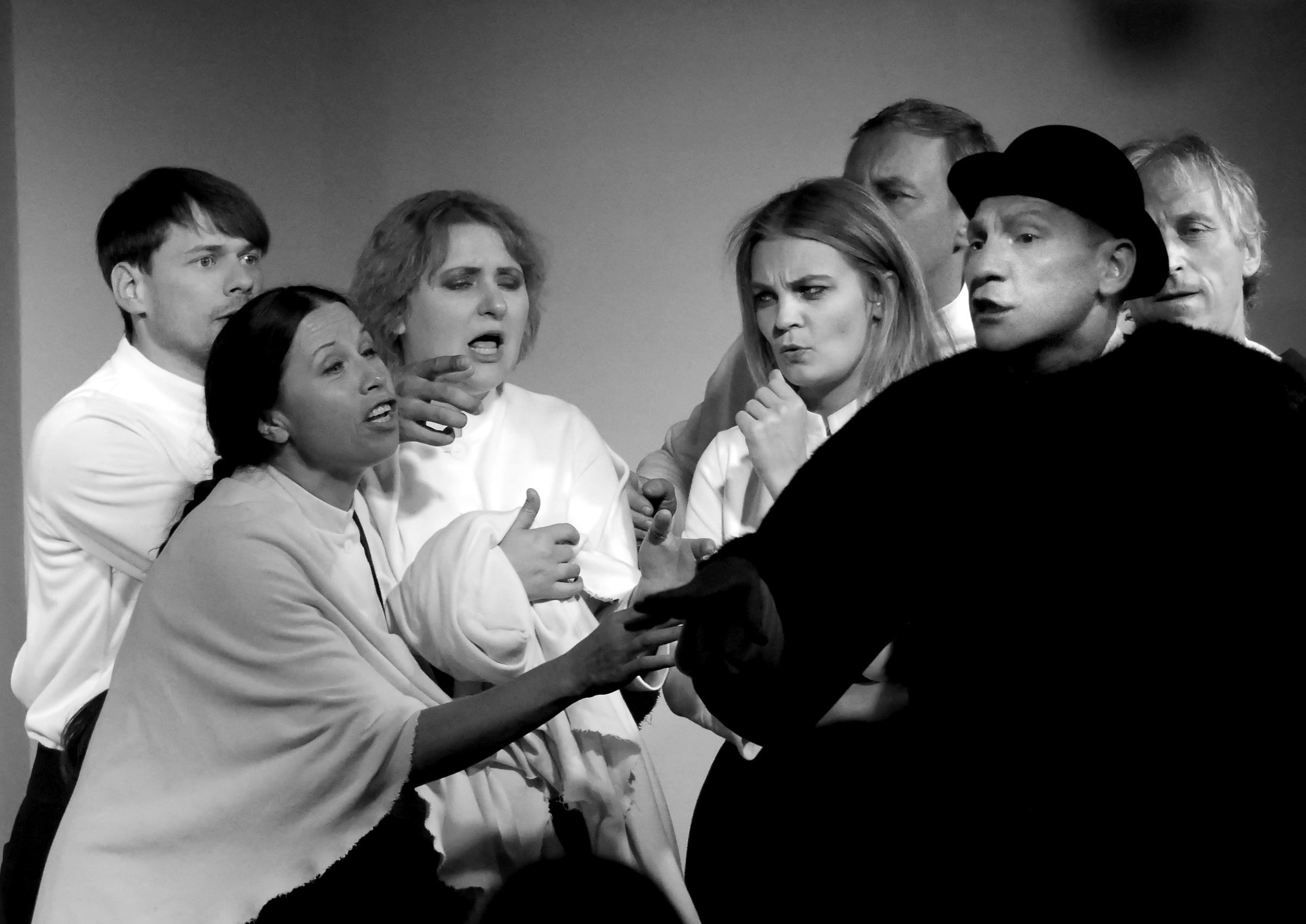 Alytaus teatro aktoriai.