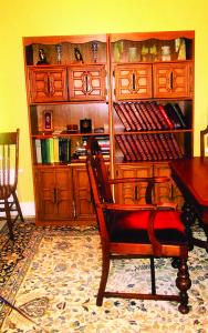 P. Povilaičio baldais apstatytas Zyplių dvaro kambarys.