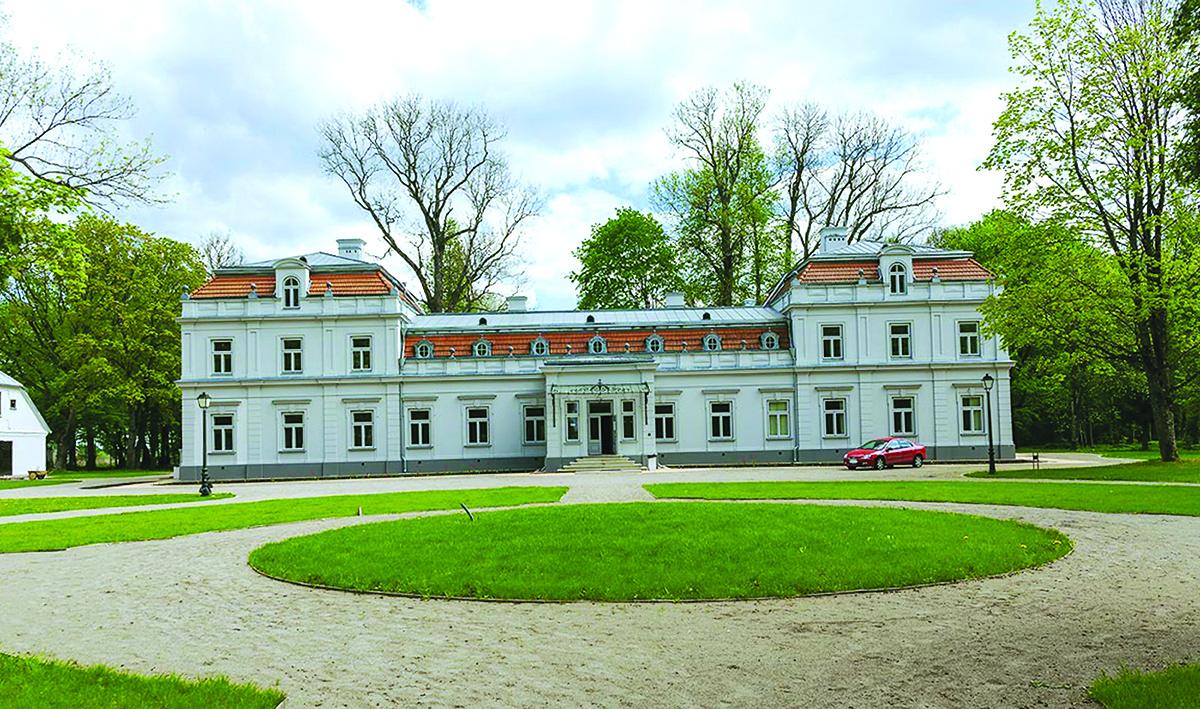 Pagrindinis Zyplių dvaro pastatas.