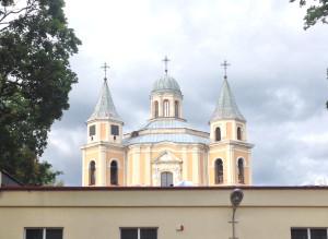 """Pro ,,Vilnius Tech Park"""" langus matoma Trinitorių vienuolyno teritorija."""