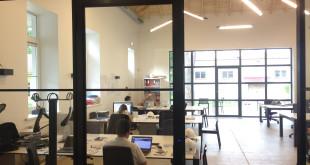 """Parke jau dirba ,,Vilnius Tech Park"""", ,,StartupHighway"""", ,,Viena Sąskaita"""" ir kitų įmonių bei organizacijų atstovai."""