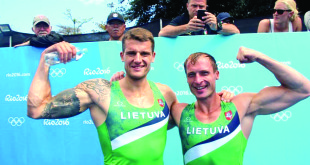 Visą Lietuvą nudžiuginusi Sauliaus (k.) ir Mindaugo pergalė Rio.