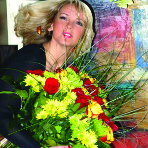Floristikos dizainerė Eglė Janušauskaitė.