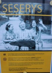 """Filmo """"Seserys"""" plakatas."""