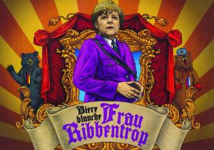 """""""Frau Ribbentrop"""" alus."""