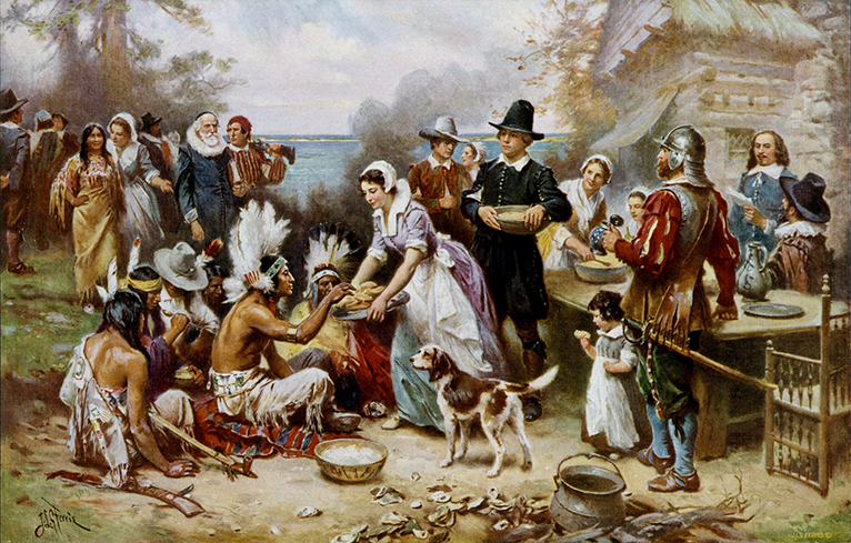 """,,The First Thanksgiving""""."""