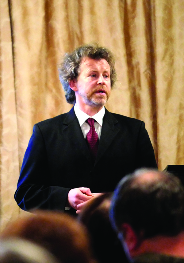 Pianistas Rokas Zubovas.