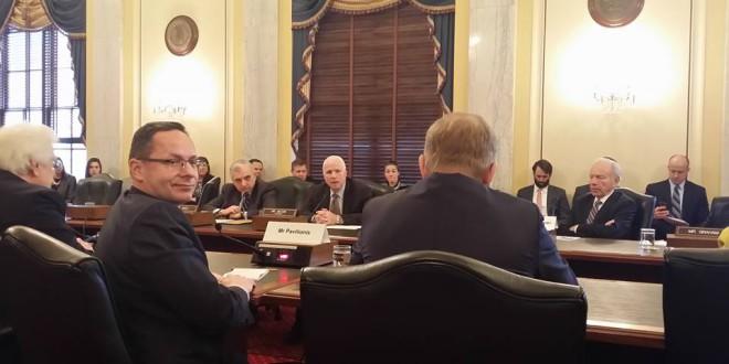 Susitikimo JAV Kongrese metu.