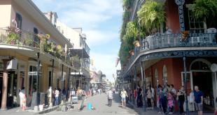 Prancūzų kvartalas – istorinė ir labiausiai turistų lankoma New Orleans dalis.