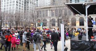 Naujųjų metų sutikimas Čikagoje.