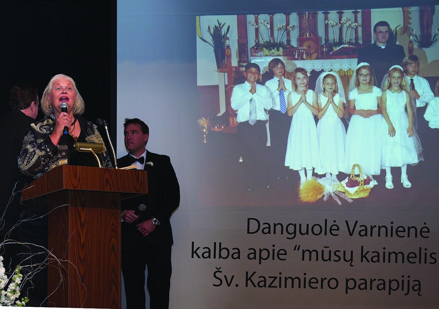 Danguolė Varnienė dalinosi prisiminimais.