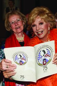 Violeta Gedgaudienė (k.) ir Ruta Lee.