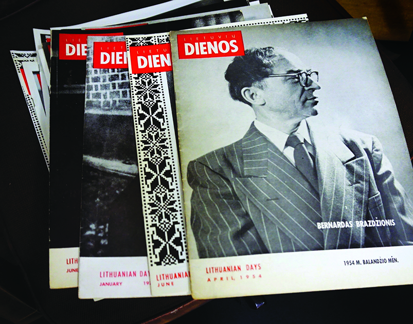 """""""Lietuvių dienas"""" poetas redagavo nuo 1955 iki 1972 metų."""