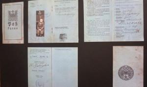 Muziejininkų atradimas – 11-mečio B. Brazdžionio pasas.