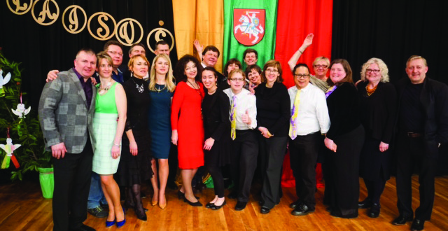 Lietuvos Nepriklausomybės šventės Portlande dalyviai.
