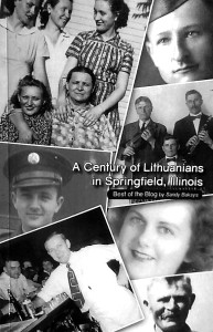 """""""A Century of Lithuanians in Springfield, Illinois"""" viršelis."""