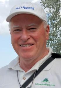 Andrew Kapochunas, Lietuvos žemėlapių kolekcionierius.