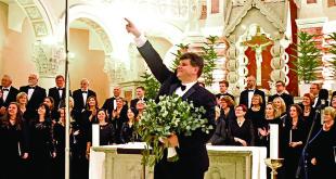 """Darius Polikaitis: Labai didžiuojuosi """"Dainavos"""" choristais."""