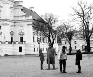 J. Vileišio skulptūra bus pastatyta Rotušės aikštėje.
