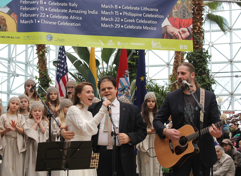 Lietuvos Nepriklausomybės dienos minėjimas 2014 m. Navy Pier.