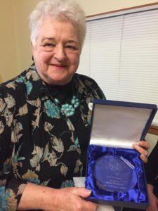 Nijolė Pupienė, Švietėjo premijos laureatė.