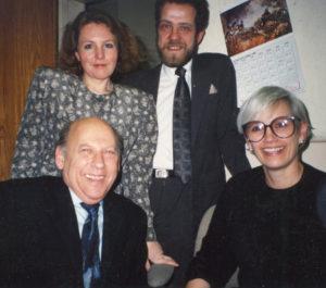 Bernie ir Jane Sahlins – tarptautinio teatro festivalio Čikagoje organizatoriai. Jaunimo teatras net du kartus iš eilės buvo pakviestas jame dalyvauti.