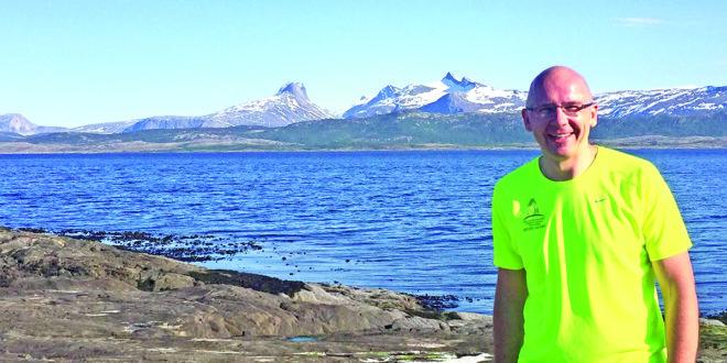 Norvegijoje Bodø mieste už poliarinio rato 2017 m.