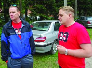 Broliai Valdas ir Liudas Miliauskai – stovyklos įkūrėjai ir jos sielos.